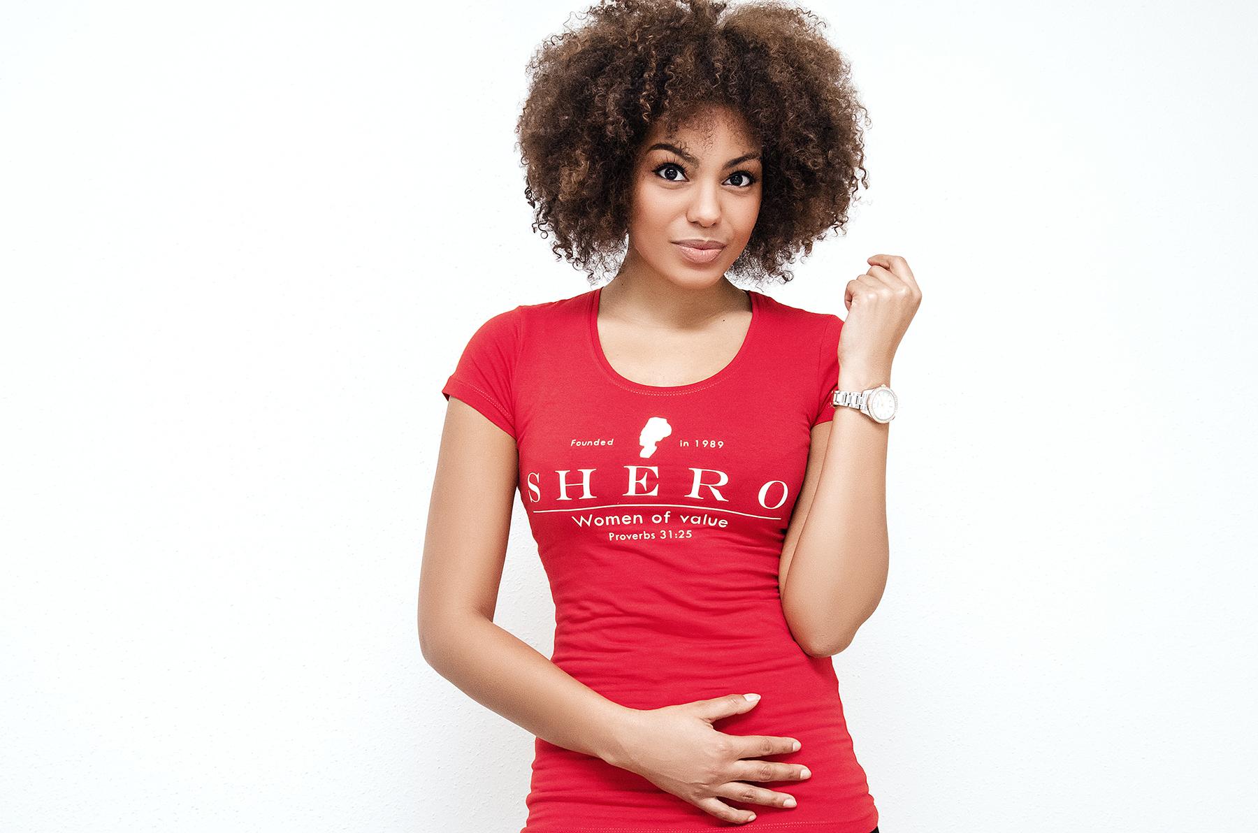 SHERO Red T-shirt