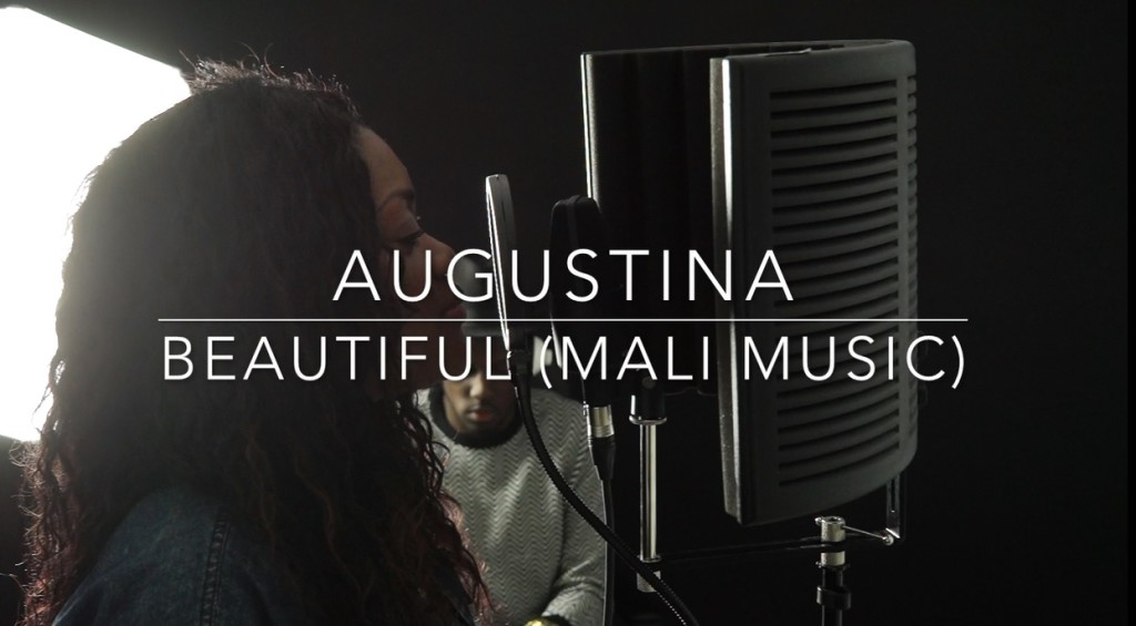 "Augustina Covers: ""Beautiful by Mali Music"""