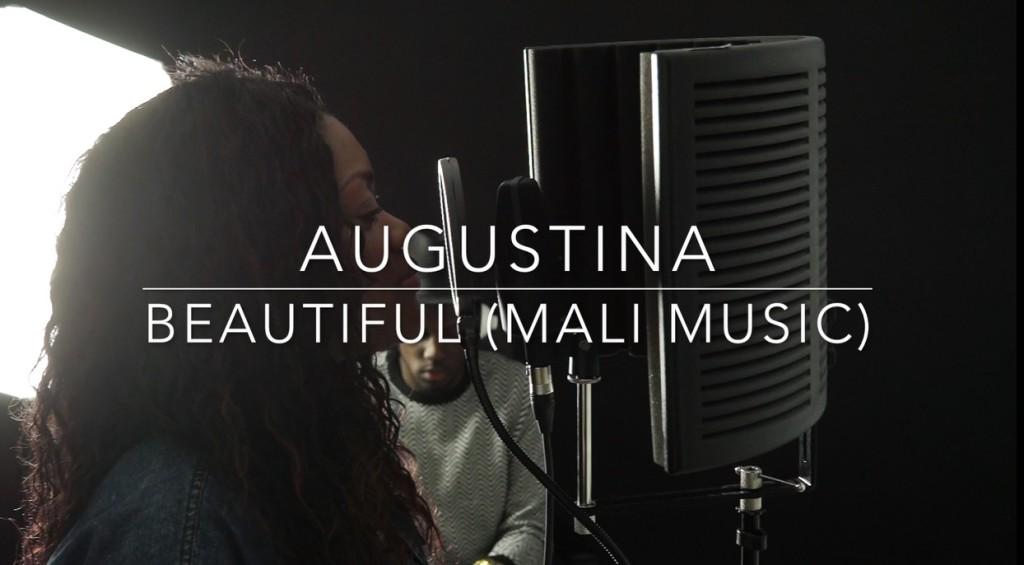 "Augustina Covers: ""Beautiful by Mali Music"""