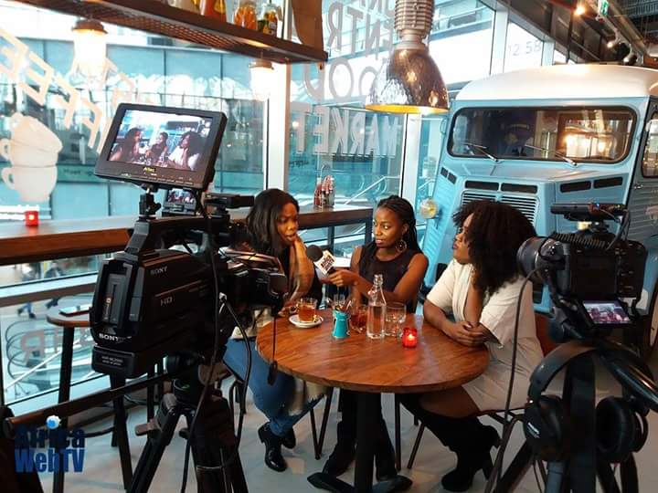 Augustina appears on Africaweb TV: set recap