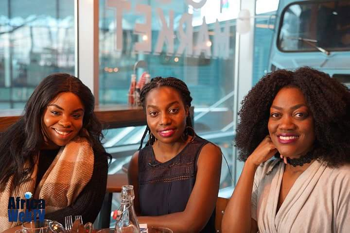 Girls with opinion: Augustina appears on Africaweb TV