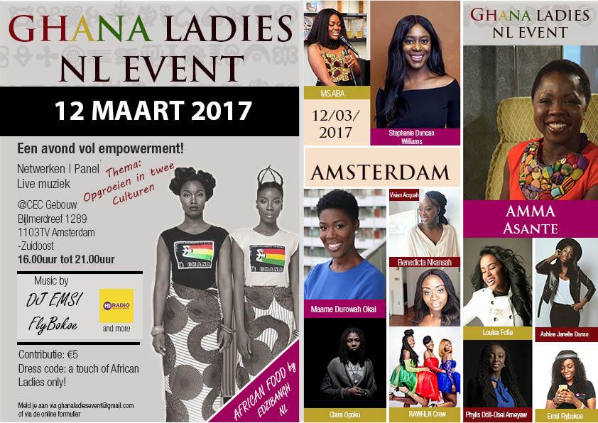 Full flyer Ghana Ladies NL Flyer 12 maart 2017