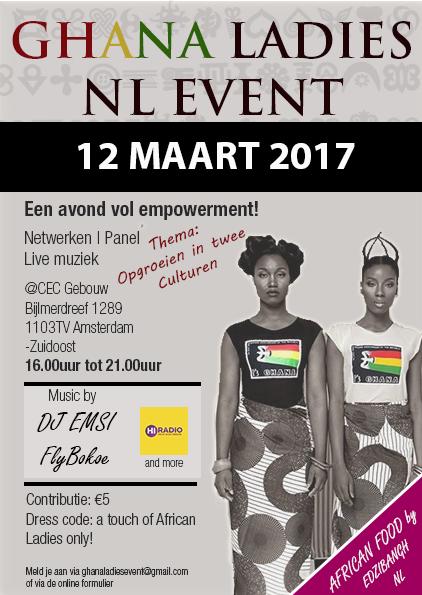 Ghana Ladies NL Event