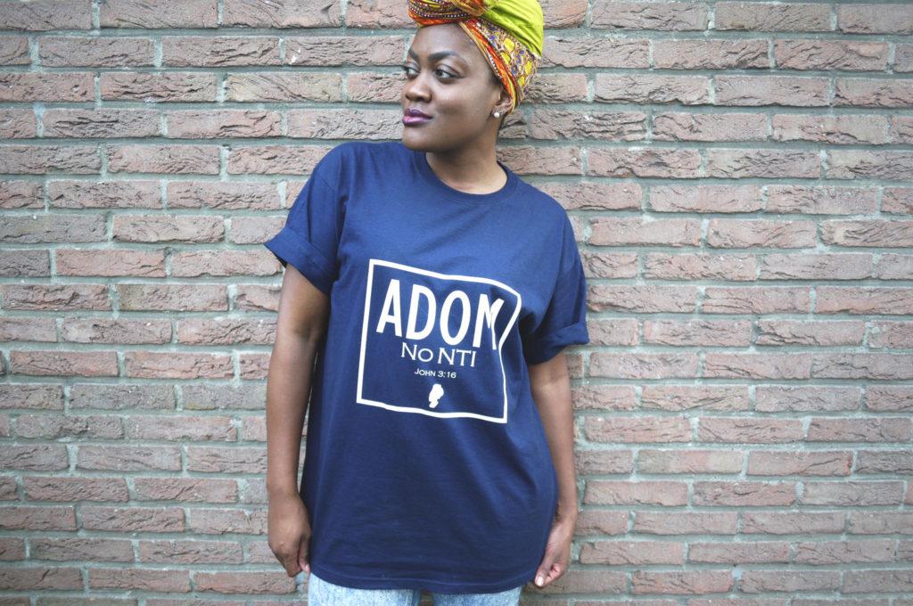 """Coming soon: """"Adom no nti"""" T-shirts"""