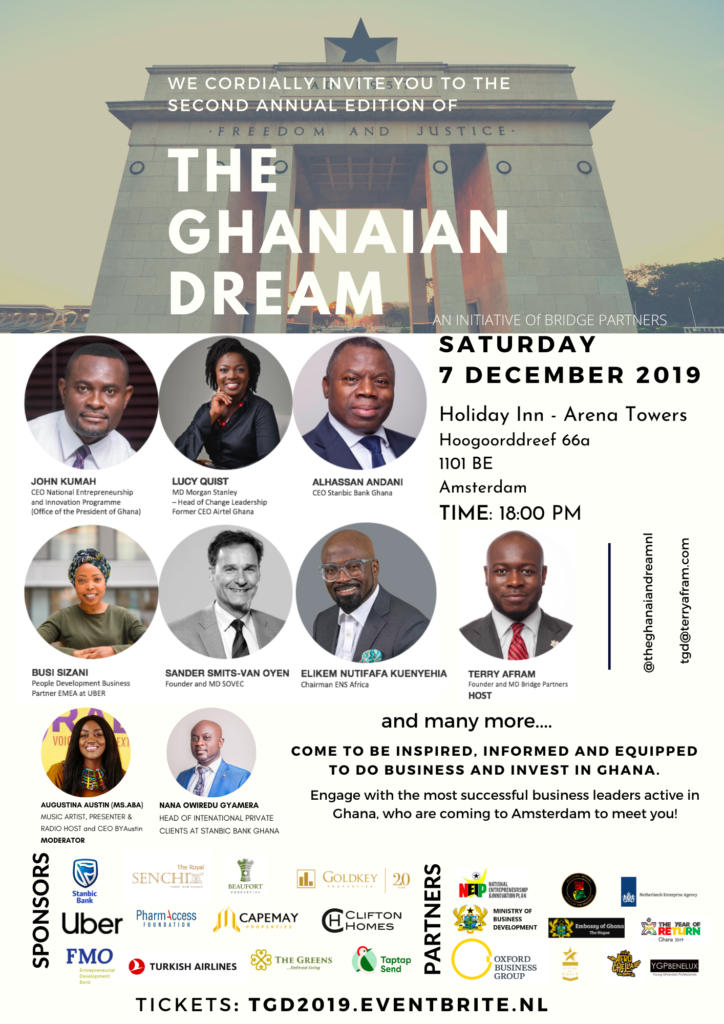 Join MS.ABA for The Ghanaian Dream