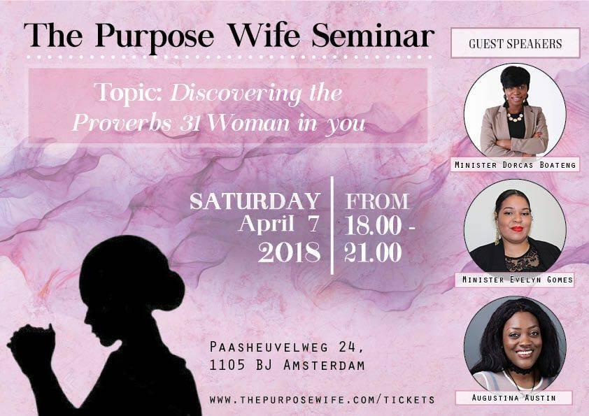The Purpose Wife Seminar