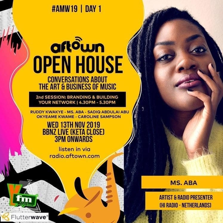 Join MS.ABA for Aftown Open House in Accra