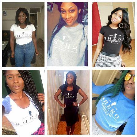 shero ladies tshirt