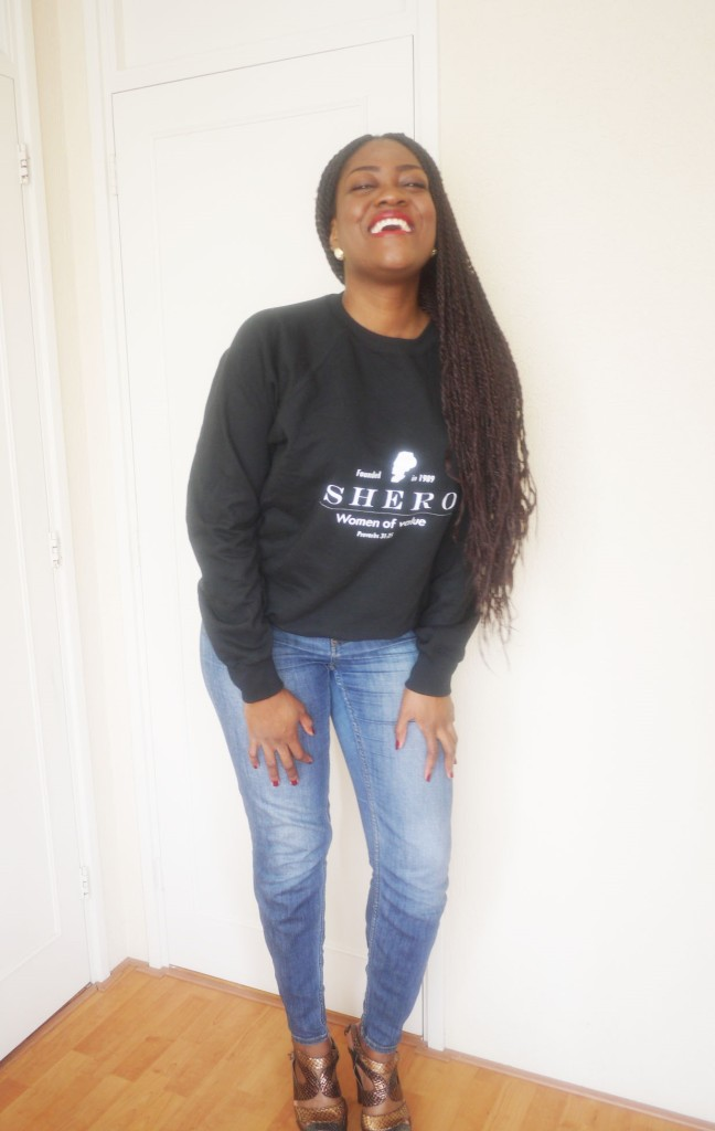 Black Shero sweaters are available!