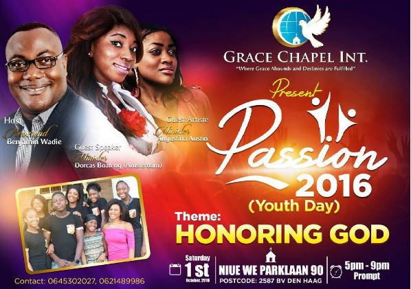 Grace Chapel presents: Passion